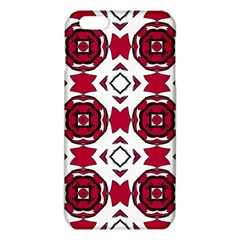 Seamless Abstract Pattern With Red Elements Background Iphone 6 Plus/6s Plus Tpu Case