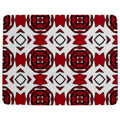 Seamless Abstract Pattern With Red Elements Background Jigsaw Puzzle Photo Stand (rectangular)