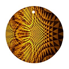 Patterned Wallpapers Ornament (Round)