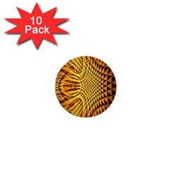 Patterned Wallpapers 1  Mini Buttons (10 Pack)