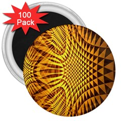 Patterned Wallpapers 3  Magnets (100 Pack)