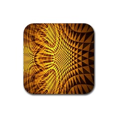 Patterned Wallpapers Rubber Coaster (square)
