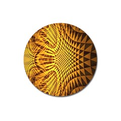 Patterned Wallpapers Magnet 3  (round)