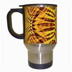 Patterned Wallpapers Travel Mugs (White)
