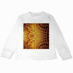 Patterned Wallpapers Kids Long Sleeve T-Shirts