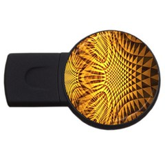 Patterned Wallpapers USB Flash Drive Round (4 GB)