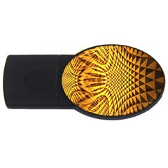 Patterned Wallpapers USB Flash Drive Oval (4 GB)