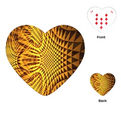 Patterned Wallpapers Playing Cards (Heart)