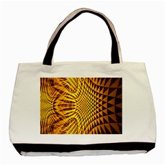 Patterned Wallpapers Basic Tote Bag