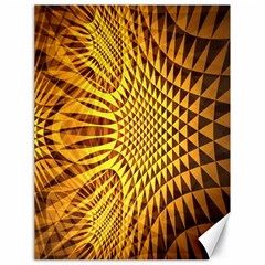 Patterned Wallpapers Canvas 18  X 24