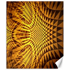 Patterned Wallpapers Canvas 20  X 24