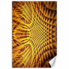Patterned Wallpapers Canvas 24  X 36
