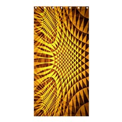 Patterned Wallpapers Shower Curtain 36  x 72  (Stall)