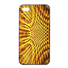 Patterned Wallpapers Apple Iphone 4/4s Seamless Case (black)