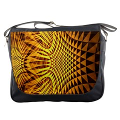 Patterned Wallpapers Messenger Bags