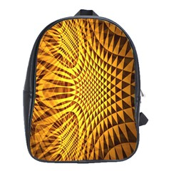 Patterned Wallpapers School Bags (xl)
