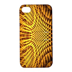 Patterned Wallpapers Apple Iphone 4/4s Hardshell Case With Stand