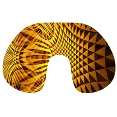 Patterned Wallpapers Travel Neck Pillows
