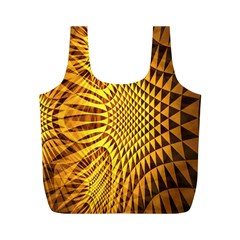 Patterned Wallpapers Full Print Recycle Bags (M)