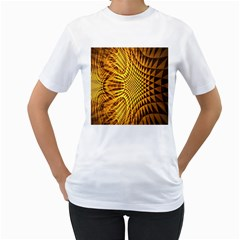 Patterned Wallpapers Women s T-Shirt (White)