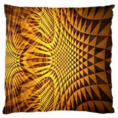 Patterned Wallpapers Large Flano Cushion Case (One Side)