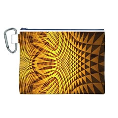 Patterned Wallpapers Canvas Cosmetic Bag (l)