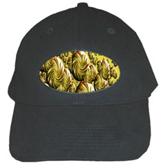 Melting Gold Drops Brighten Version Abstract Pattern Revised Edition Black Cap