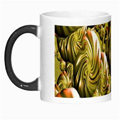 Melting Gold Drops Brighten Version Abstract Pattern Revised Edition Morph Mugs