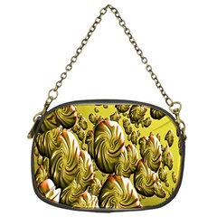 Melting Gold Drops Brighten Version Abstract Pattern Revised Edition Chain Purses (one Side)