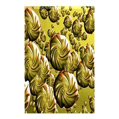 Melting Gold Drops Brighten Version Abstract Pattern Revised Edition Shower Curtain 48  X 72  (small)