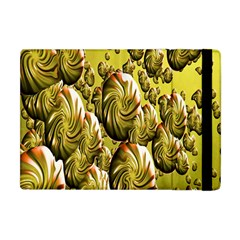 Melting Gold Drops Brighten Version Abstract Pattern Revised Edition Apple iPad Mini Flip Case
