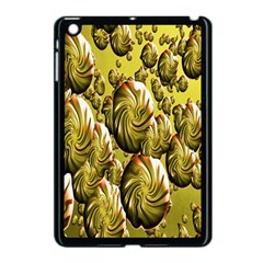 Melting Gold Drops Brighten Version Abstract Pattern Revised Edition Apple Ipad Mini Case (black)
