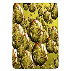 Melting Gold Drops Brighten Version Abstract Pattern Revised Edition Flap Covers (l)