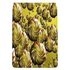 Melting Gold Drops Brighten Version Abstract Pattern Revised Edition Flap Covers (S)