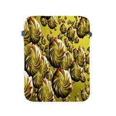Melting Gold Drops Brighten Version Abstract Pattern Revised Edition Apple Ipad 2/3/4 Protective Soft Cases