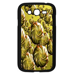 Melting Gold Drops Brighten Version Abstract Pattern Revised Edition Samsung Galaxy Grand DUOS I9082 Case (Black)