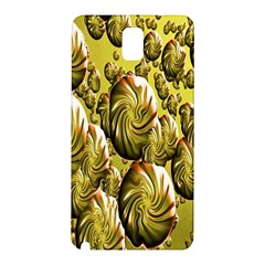 Melting Gold Drops Brighten Version Abstract Pattern Revised Edition Samsung Galaxy Note 3 N9005 Hardshell Back Case