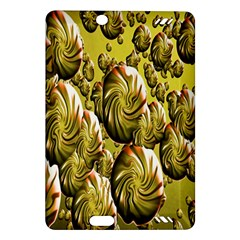 Melting Gold Drops Brighten Version Abstract Pattern Revised Edition Amazon Kindle Fire HD (2013) Hardshell Case