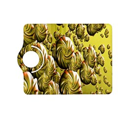 Melting Gold Drops Brighten Version Abstract Pattern Revised Edition Kindle Fire HD (2013) Flip 360 Case