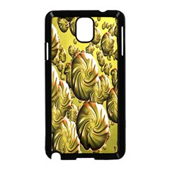 Melting Gold Drops Brighten Version Abstract Pattern Revised Edition Samsung Galaxy Note 3 Neo Hardshell Case (black)