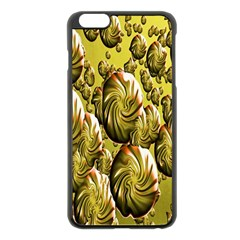 Melting Gold Drops Brighten Version Abstract Pattern Revised Edition Apple iPhone 6 Plus/6S Plus Black Enamel Case