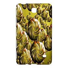Melting Gold Drops Brighten Version Abstract Pattern Revised Edition Samsung Galaxy Tab 4 (8 ) Hardshell Case