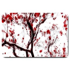 Tree Art Artistic Abstract Background Large Doormat
