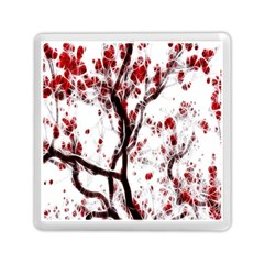 Tree Art Artistic Abstract Background Memory Card Reader (square)