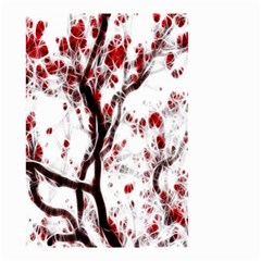 Tree Art Artistic Abstract Background Small Garden Flag (two Sides)