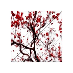 Tree Art Artistic Abstract Background Acrylic Tangram Puzzle (4  x 4 )