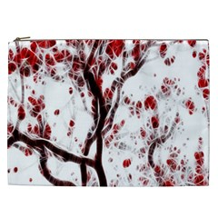 Tree Art Artistic Abstract Background Cosmetic Bag (XXL)