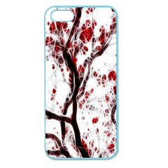 Tree Art Artistic Abstract Background Apple Seamless iPhone 5 Case (Color)