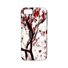 Tree Art Artistic Abstract Background Apple iPhone 5 Classic Hardshell Case (PC+Silicone)