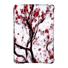 Tree Art Artistic Abstract Background Apple Ipad Mini Hardshell Case (compatible With Smart Cover)